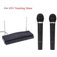 conference system - Professional VHF Handheld Wireless Microphone Mic System for Karaoke KTV Stage DJ Conference Wholesael Price