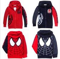sweatshirt hoodies - Spiderman Clothes Kids Boys Sweatshirt Hoodies Jacket Coat Outerwear Years DH04