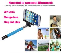 Cheap Brand new!selfie 2 in 1 with Built- in Shutter Mobile Phone Monopod Selfie Stick Tripod Handheld Monopod For Iphone IOS Android Smart Phone