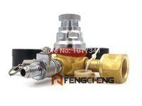 Wholesale CO2 Dual Gauge Regulator with quot MFL Checkvalve Homebrew CO2 Regulator psi psi CGA320