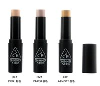 Wholesale New Korea concept eyes CE Stylenanda colors APNCOT PEACH PINK Shimmer Stick Fashion Concealer Stick