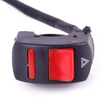 Wholesale Universal Handlebar Motorcycle Accident Hazard Light Switch On Off Button A