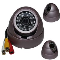 Wholesale AV Output quot CMOS LED Conch Recorder DVR Infrared Security CCTV Camera