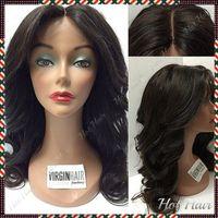 brazilian full lace wig - 6A Brazilian Hair Full Lace Human Hair wigs Brazilian Body Wave Lace Front Wig Glueless Full Lace Wig