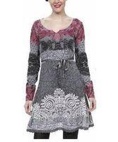 Cheap DESIGUAL Best sleeved dress