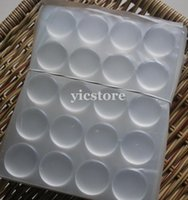 clear epoxy stickers - Hight quality clear back Resin Dot Adhesive Stickers quot Circle D epoxy sticker Dome