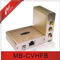 Wholesale 1 CH Composite Video Stereo Audio Balun Extender Over Cat5e