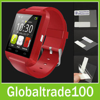 anti install - Anti Glare Fingerprint Matte surface HD Screen Protector Film for U8 Smart Watch DZ09 Smartwatch