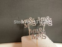cupcake toppers - Mr Mrs Cupcake Toppers Glitter cupcake toppers Bridal Shower Cupcake toppers Wedding Engagement Cupcake Cake Topper