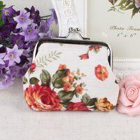Wholesale Sweet Small wedding gift coin wallets money bag many styles leopard crocodile Zebra rose key holder