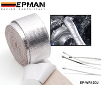 adhesive tape converters - Tansky Car Aluminum Reinforced Tape Adhesive Backed Heat Shield Resistant Wrap For All Intake pipe Suction Kit EP WR12DJ