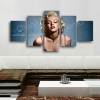 Cheap wall pictures for dining  Best marilyn monroe home decor