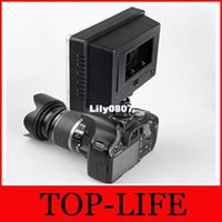 Wholesale WANSEN WSLED24 LED Video Light W LM K Dimmable for Canon Nikon DSLR Camera DV Camcorder