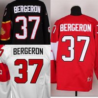 Cheap Factory Outlet, Customized Hot 2014 Sochi Winter Olympic #37 Patrice Bergeron Men's Red ,Black,White,Canada Stitched Hockey Jersey,