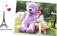 big foot doll - 6 FEET BIG TEDDY BEAR STUFFED Colors GIANT JUMBO quot size cm Embrace Bear Doll lovers christmas birthday gift