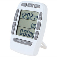 Wholesale 3 Line LCD Triple Display Digital Kitchen Timer Alarm Countdown Stopwatch Clock for Kitchen Cooking Tools