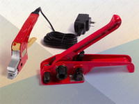 Wholesale Free ship Sealless manual handy strap tool electric heating welding strapping tool