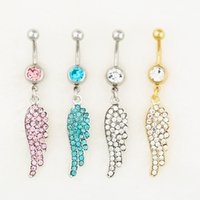 belly boys - 0551 body jewelry Nice style Navel Belly ring mix colors stone drop shipping factory price