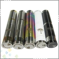 Single stainless, gold & silver mix Metal Best Nemesis Mod 18350 18500 18650 battery for Nemesis Ecig PK Chi you Mod