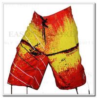 Wholesale NEW H Brand Quick Drying Waterproof Stretch Brand Shorts Men Boardshorts Beach Surf Swimwears Men Board Shorts Swim men