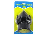 Wholesale Cheap Single Gas Mask protection filter Chemical Gas Respirator Face Mask