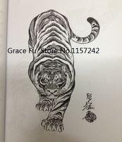 Wholesale A4 size Japanese tattoo book Horimouja Jack Mosher book tiger hawks snakes Tatouage