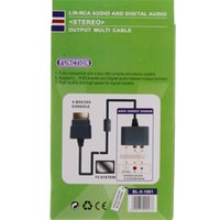 audio multi output - LR RCA Digital Audio Output Multi Cable for X BOX