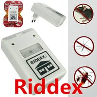 Cheap Riddex Plus Pest Repeller Riddex Electronic Pest Control Pest Repelling Aid Ultrasonic Electronic Anti Mosquito Mouse Insect Cockroach