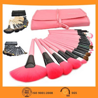 Wholesale High quality Original MAKE UP FOR YOU Professional Makeup Brush Set Kit Makeup Brushes tools Make up Brushes Set Case Pink Black Wood