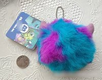 hanging balls - 2015 Europe Monsters Sullivan CM Plush Toys Kids Boys Girls Birthady Gift Hanging Cartoon MU Wazowski Lovely Fuzz Balls Dolls H3293
