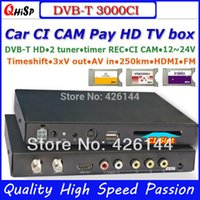 Wholesale 2015 New Top Included Dvb t3000ci In Car Mpeg2 mpeg4 Cam Ci Module Dvb t Dtv Europe Support km Per Hour