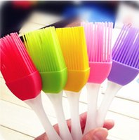 Wholesale New Fashion Silicone Baking Bread Cake tools Pastry Oil Cream BBQ Utensil safety Basting Brush for cooking Pastry ToolsZy00152