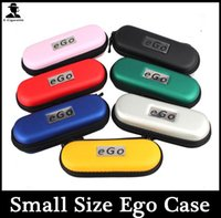 Wholesale E Cigarette Box eGo Zipper Case Small Size Electronic Starter Kits Packaging Hot selling