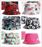 kangol hats - men women Fisherman Hat Hot new Floral Script FISHER CAP classic Bucket Hats designer flower Kangol galaxy camo cayler sons caps