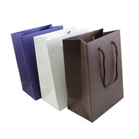 Wholesale wholeslale New Arrivals Fashion High Quality Jewelry Packaging Bag Hand Length Handle Paper Gift Bag for Jewelry Bag