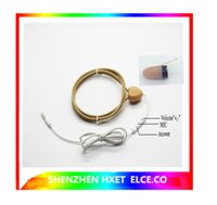 Wholesale 2016 new inductive loop necklace with QS218 NON MAGNETIC micro earpiece invisible mini earphone quality test before delivery