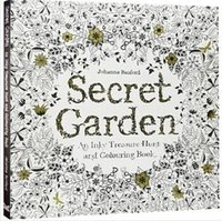 coloring book - 50pcs CCA1984 Secret Garden An Inky Treasure Hunt Coloring Book Children Adult Relieve Stress Kill Time Graffiti Painting Drawing Book