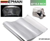 Wholesale Tansky NEW EPMAN Racing Aluminum Heat Barrier inch Sliver Have in Stock EP WR16BDJB