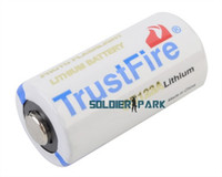 Wholesale Universal TrustFire CR123A V mAh Primary Li ion Battery Safety Alkaline Dry Battery for Flashlight Camera Player order lt no track