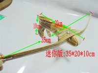 Wholesale Mini Crossbow Kids Toy Gifts For Shooting Arrow And Archery Bow Quive Wood Arrow