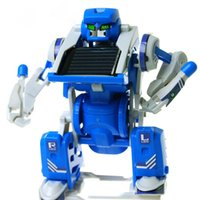 Wholesale Freeshipping Children In Solar Power Car Robot Tank Scorpion DIY Kits Educational Assembled Toy For Kids Gifts