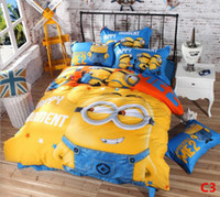 Wholesale DHL free ship all of Despicable Me Comforter models choose Pure cotton Bedding Set Luxury Bedding Set Bedding Sets