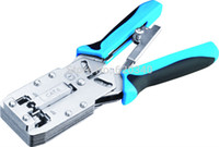 Wholesale High quality Multifunctional Network Crimping Tools for Crimp Cat6 RJ12 RJ45 RJ11 P8C P6C P4C order lt no track