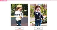 Wholesale New Arrival Autumn Korean Boys Clothes Fashion Cardigan Children Clothing Long Sleeve Stripe Outwear Kids All Match Korean Navy White2