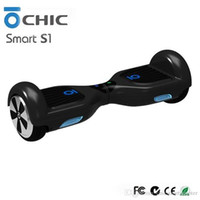 Wholesale CHIC Smart S1 Electric Scooters Two Wheel Balance Scooter Self Balancing Skateboard IO Hawk Unicycle Best Battery Imported Motor Hoverboard
