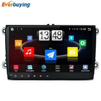 Wholesale Android Quad core GB Car DVD Player VW Skoda POLO GOLF PASSAT CC JETTA TIGUAN TOURAN BORA CADDY car gps dvd