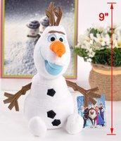 animal farm movie - New Olaf Toys cm Cartoon Movie Frozen Elsa Olaf Snowman Plush Toys Olaf Dolls For Baby Kids Classic Toys
