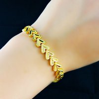 belcher gold chains - Womens jewelry k Yellow Gold Filled belcher Bracelet chain filigree padlock heart pendant