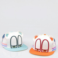 Wholesale amp Retail New Fashion Snapback Sports Baseball Cap Sleepy Eyes Cartoon Korean Style Gifts Snapback