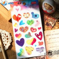 Wholesale South Korea Sent Straight Three Dimensional Gold Foil Stickers YEEHYUN Love